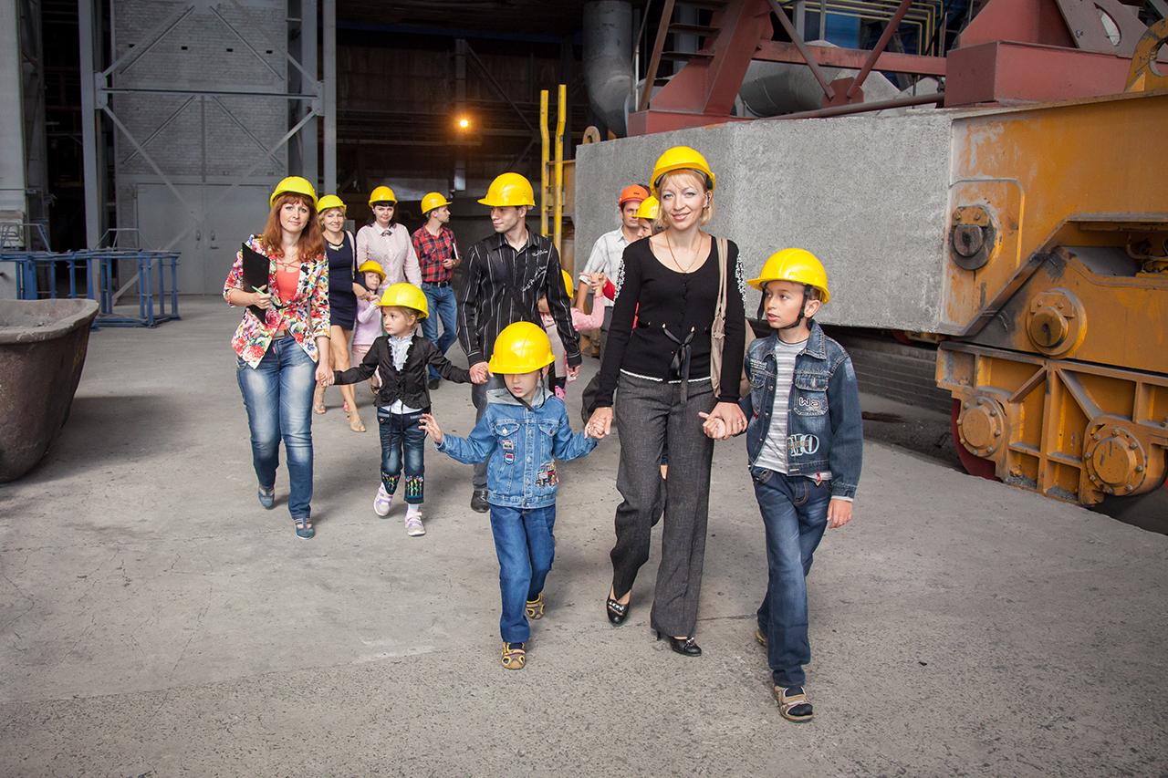 Экскурсия детей